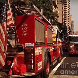 Miriam Danar - N Y C Fire Trucks - On the Job
