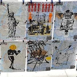 Rob Hans - N Y C Hanging Art