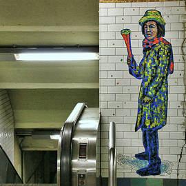 Allen Beatty - N Y C Subway Scene # 17