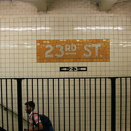 Allen Beatty - N Y C Subway Scene # 26