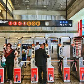 Allen Beatty - N Y C Subway Scene # 27