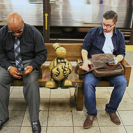 Allen Beatty - N Y C Subway Scene # 30
