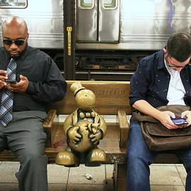 Allen Beatty - N Y C Subway Scene # 37
