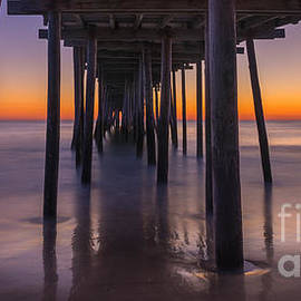 Michael Ver Sprill - Nags Head Pier Sunrise Panorama