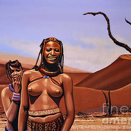 Paul Meijering - Himba Girls Of Namibia