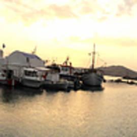 Colette V Hera  Guggenheim  - Naoussa By Night Paros Island
