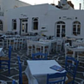 Colette V Hera  Guggenheim  - Naoussa Harbour Paros Island