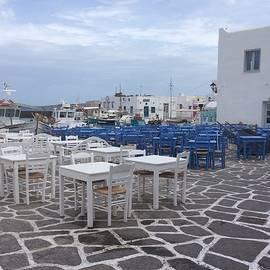 Colette V Hera  Guggenheim  - Naoussa harbour Paros Island Greece