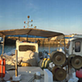 Colette V Hera  Guggenheim  - Naoussa Old Port Island Greece