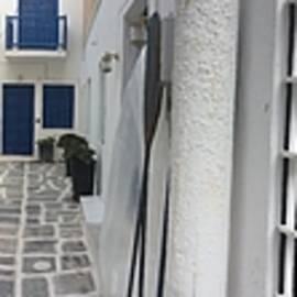 Colette V Hera  Guggenheim  - Naoussa Streets Paros Island Greece