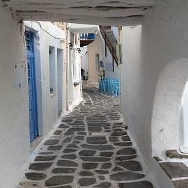 Colette V Hera  Guggenheim  - Naoussa vIllage Greece