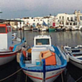 Colette V Hera  Guggenheim  - Naoussa Village Island Greece