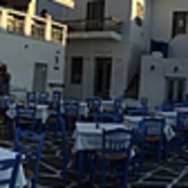 Colette V Hera  Guggenheim  - Naoussa village Paros Greece