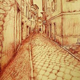 Maja Sokolowska - Narrow street of Lovere Italy