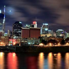 Frozen in Time Fine Art Photography - Nashville Skyline