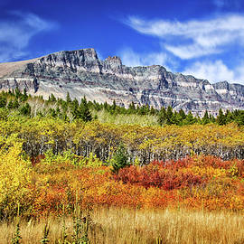 Carolyn Derstine - Natural Layers in Glacier National Park