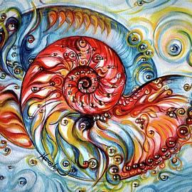 Harsh Malik - Nautilus Shell - Ocean