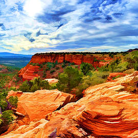 Bill Caldwell -        ABeautifulSky Photography - Near the Edge at Doe Mountain 2