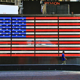 Allen Beatty - Neon American Flag 4