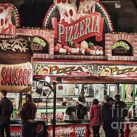 Janice Rae Pariza - Neon Pizzeria