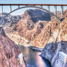 Carol  Lux Photography - Hoover Dam Sunset
