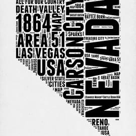 Nevada Word Cloud 3 - Naxart Studio