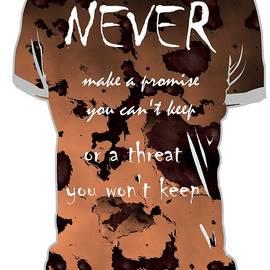 Jacquie King - Never - T-shirt Wisdom