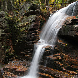 Juergen Roth - New Hampshire Avalanche Waterfall