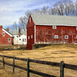 Betty Denise - New Hampshire Farm Scene