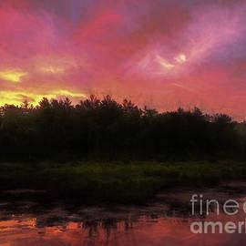 Mim White - New Hampshire Sunrise Glaze