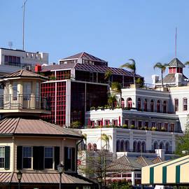 Kathy K McClellan - New Orleans French Quarter Riverfront