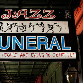 Chrystal Mimbs - New Orleans Jazz Funeral Sign