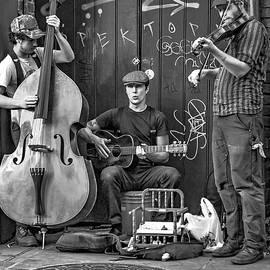 Steve Harrington - New Orleans Street Musicians bw