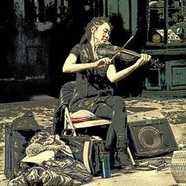 Rebecca Korpita - New Orleans Street Performer - Vagabond Virtuoso