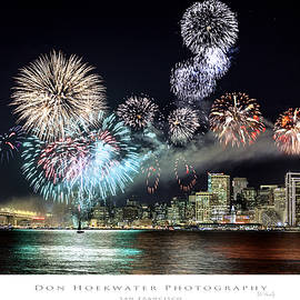 PhotoWorks By Don Hoekwater - New Year Fireworks over San Francisco