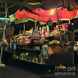 Miriam Danar - New York at Night - Umbrella Market