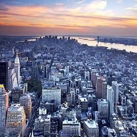 New York City at Sunset - Chris Sargent