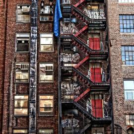 Mike Martin - New York City Fire Escape