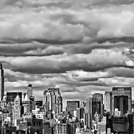 Allen Beatty - New York City Skyline B and W