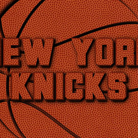 NEW YORK KNICKS LEATHER ART - Joe Hamilton