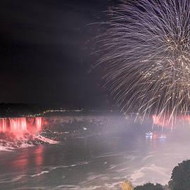 Nick Mares - Niagara Falls fireworks
