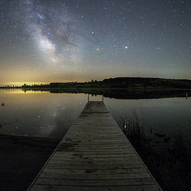 Aaron J Groen - Night on the dock