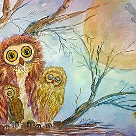 Ellen Levinson - Night Owls Harvest Moon