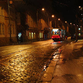 Jenny Rainbow - Night Tram in Prague