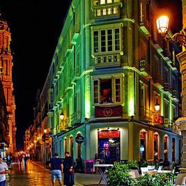 Mary Machare - Night Walk - Malaga Spain
