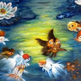 Renee Giegoldt - Nine gold fish