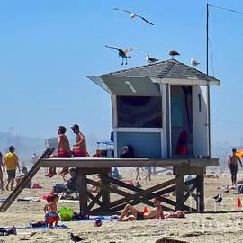 Jennie Breeze - No.1 Lifeguard Station.Seal Beach