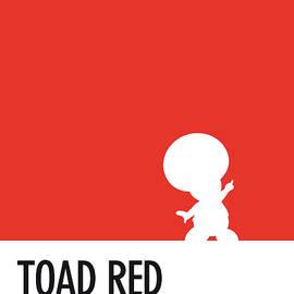 No41 My Minimal Color Code poster Toad - Chungkong Art