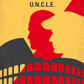 No572 My Man from UNCLE minimal movie poster - Chungkong Art
