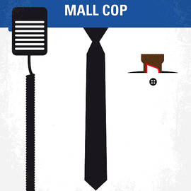 No579 My Paul Blart Mall Cop minimal movie poster - Chungkong Art